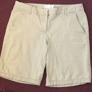 J. Crew Bermuda Shorts Size 4